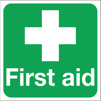 First Aid Sign 150x150