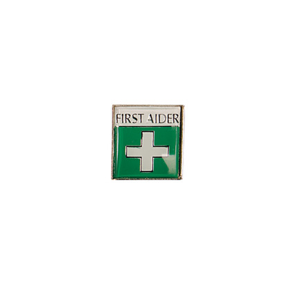 Badge (Metal) First Aid