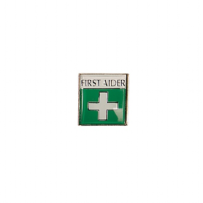 Badge (Metal) First Aid, Pack of 20