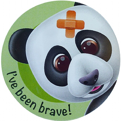 I've Been Brave Stickers