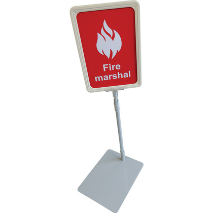 Fire Marshal Desk Sign