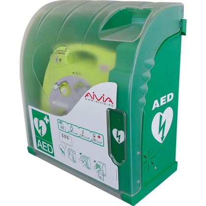 Outdoor Heated AED Cabinet